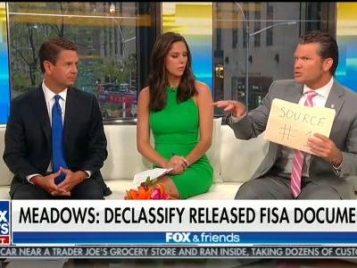 Trump Quotes Fox & Friends Host Pete Hegseth to Rail Against Carter Page FISA Documents