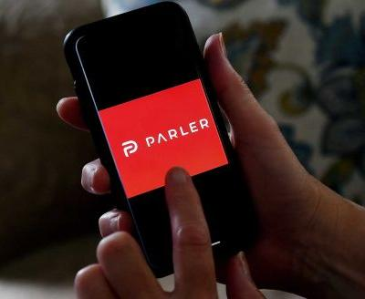 Parler's homepage now has brief message to 'lovers and haters'