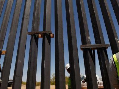 The Trump administration edited a bizarre press release about Trump's border wall after people roasted it