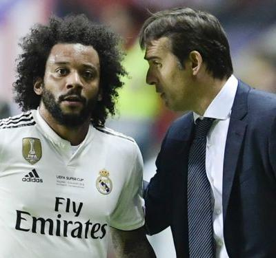 Real's Marcelo forced off injured and could miss Madrid derby