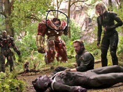 Why does Bruce Banner sleep in this scene?