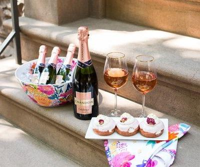 Here's Where To Get Chandon's Sparkling Rosé Doughnuts For National Rosé Day