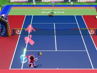 How to Trick Shot in Mario Tennis Aces