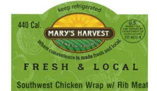 Trader Joe's salads, Mary's Harvest wraps recalled for risk from corn