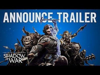 Middle-earth: Shadow of War Officially Announced After Accidental Leak