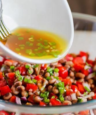 The Perfect BBQ Side: Black Eyed Pea Salad and Beaujolais Wine