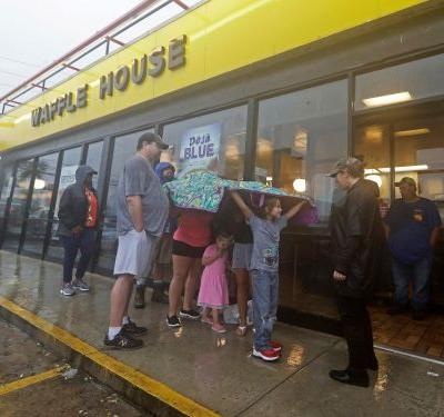 Waffle House stays open during hurricanes like Florence and has four secret menus in place for disasters