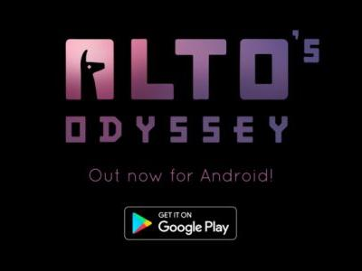 Alto's Odyssey slides onto the Play Store