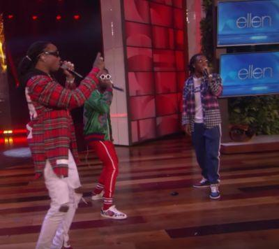 "Watch Migos Do ""Bad & Boujee"" On Ellen"