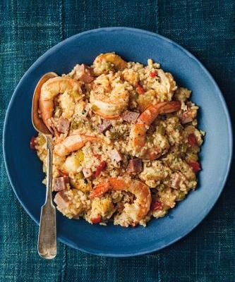 Smoky Slow-Cooker Jambalaya
