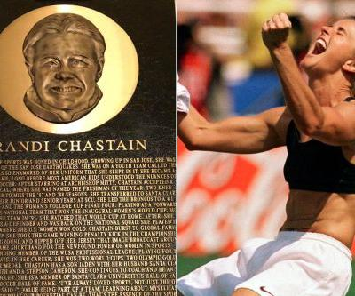 Is this really the plaque for a US soccer hero?