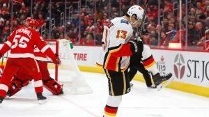 Johnny Gaudreau's power-play goal secures another Flames' rally