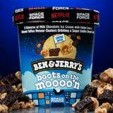 Ben & Jerry's Launched a Space Force-Themed Flavor With a Galactic Sugar-Cookie Core