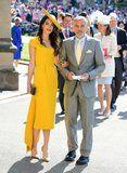 Amal Clooney Looks Sensational at the Royal Wedding - but Would You Expect Any Less?