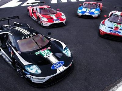 The Ford GT Will Use These Amazing Retro Liveries At Le Mans
