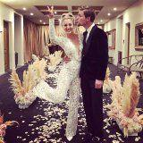 Kaley Cuoco's Sheer Wedding Dress Was Absolutely Breathtaking, but Her Lace Jumpsuit Was on Another Level