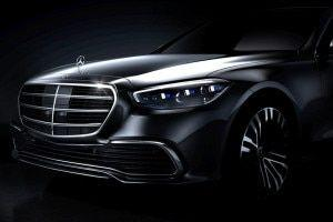 2021 Mercedes-Benz S-Class Teased Reveal Soon