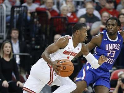 No. 18 Ohio State routs UMass Lowell 76-56