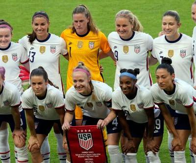Women can't match men's pay, even if they're Olympic athletes on the national soccer team