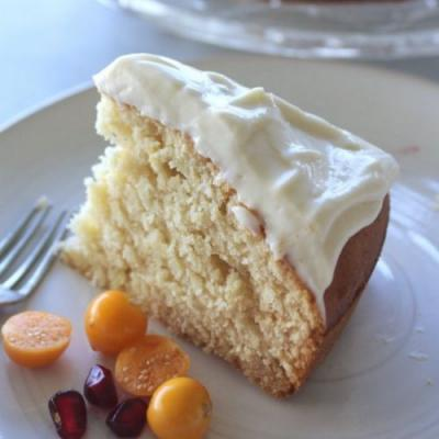 Sugar Free Lemon Olive Oil Cake