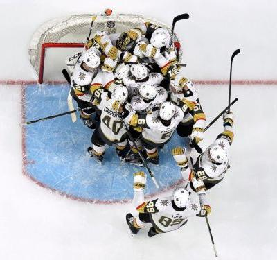 The Las Vegas Golden Knights had never played a game a year ago and are now co-favorites to win the Stanley Cup