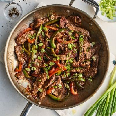Make This Takeout-Style Pepper Steak Stir-Fry in 20 Minutes