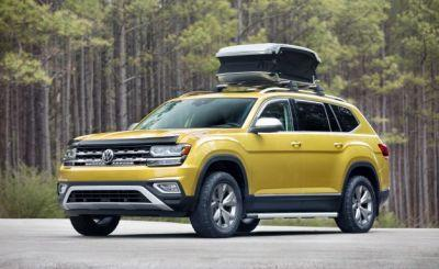 "What Is a ""Weekend""? Volkswagen Shows Atlas Weekend Edition with Accessories"