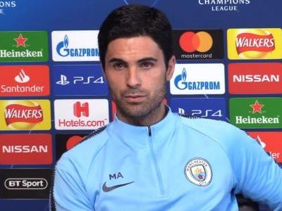 Arteta 'so happy' to stay at Man City despite almost landing Arsenal job