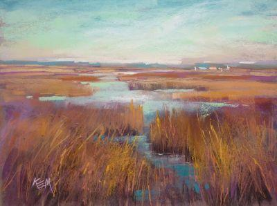 Sunday Studio Live Demo: Painting a Marsh and Playing with Color Schemes