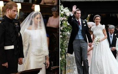 Harry & Meghan's Wedding Vs. William & Kate's Shows Major Differences