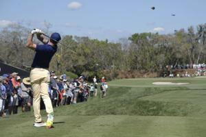 Cabrera Bello leads Bay Hill as Lefty salvages wild round