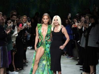 From Jennifer Lopez's Versace moment to Gucci's travelator runway, here are the best moments from Milan Fashion Week