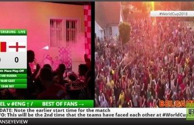 WORLD CUP 2018 LIVE FansEyeView England Belgium 3rd place playoff