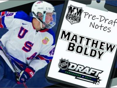 2019 NHL Draft Preview: Matthew Boldy, USA Forward