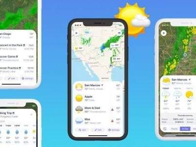 Popular iOS app Weather Atlas rebranded as Weather Up, adds Event Forecasts and more