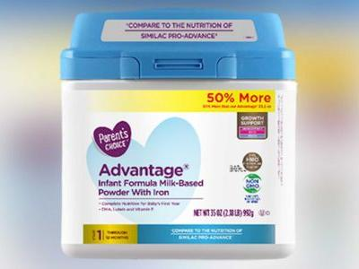 At least 23K containers of baby formula powder recalled at Walmart for possible contamination