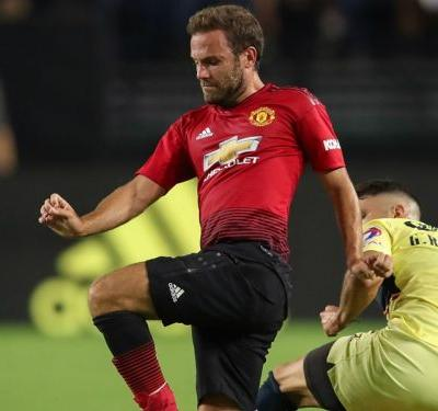 Manchester United 1 America 1: Mata salvages draw for Red Devils