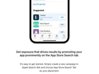 Apple inviting developers to appear in new prominent App Store ad slots