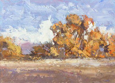 AUTUMN LEAVES by TOM BROWN