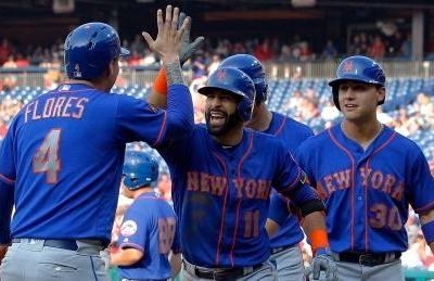 Jose Bautista's bench barrage ties RBI record in Mets' 24-4 victory