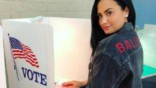 Demi Lovato Is 'Grateful' On Election Day In First Photo Since Rehab