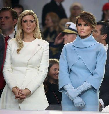 These Photos Of Melania & Ivanka Trump Show Their Relationship Is A Mixed Bag