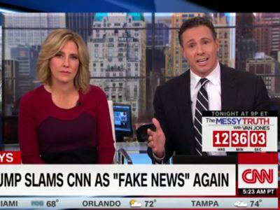 CNN host Chris Cuomo to Trump: Being called 'fake news' is 'like an ethnic disparagement' for journalists