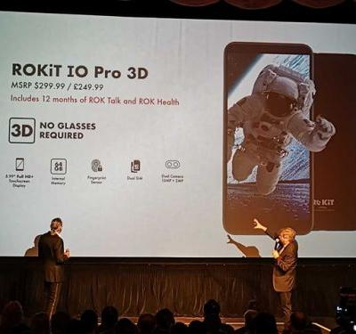 Rokit to release 3D capable smartphones with insurance at midnight