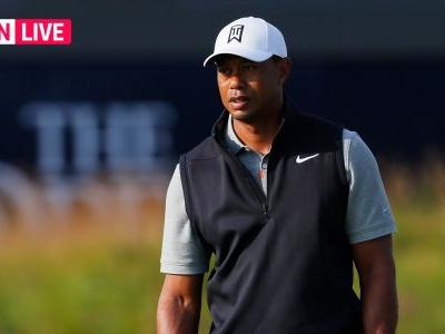 Tiger Woods' score: Live British Open updates, results, highlights from Round 1