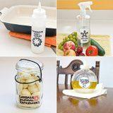 18 Kitchen Cleaning DIYs