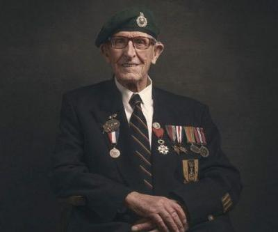 The 94-year-old D-Day veteran who has barely enough money to feed himself
