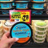 Trader Joe's Buffalo Style Hummus Is Here to Spice Up Snack Time, and We. Are. Ready