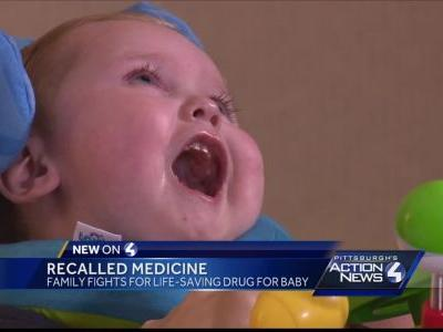 Family fights for life-saving drug for baby