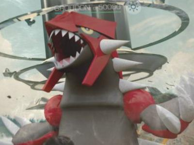 Groudon Now Appearing In Pokemon Go Raids